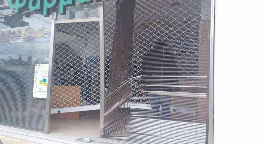 Κινηματογραφική εισβολή <br> κακοποιών σε <br> φαρμακείο στο Πικέρμι
