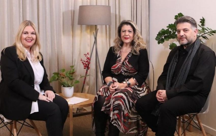 Η τηλεοπτική <br> συνέντευξη των Hello <br> Ραφήνας Αρτέμιδας