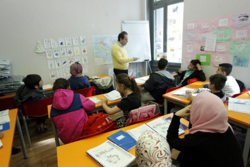 Τα σχολεία υποδοχής <br> μεταναστών στην <br> ανατολική Αττική