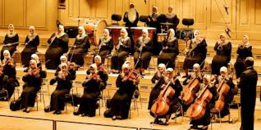 Η μοναδική ορχήστρα <br> του πλανήτη με <br> τυφλές γυναίκες (βίντεο)
