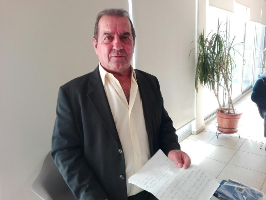 Ξανά πρόεδρος των <br> αλιέων Ραφήνας <br> ο Θανάσης Μπολολιάς