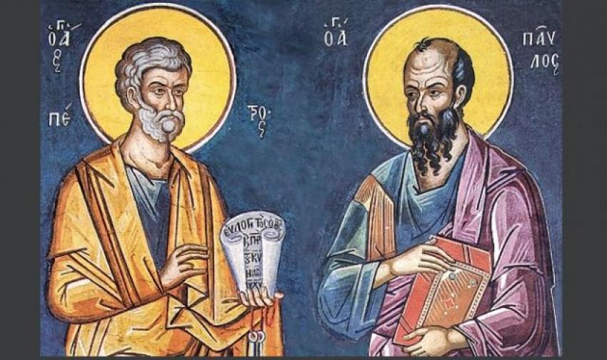Πέτρος και Παύλος Η ζωή των δύο Αποστόλων - iSelida.gr