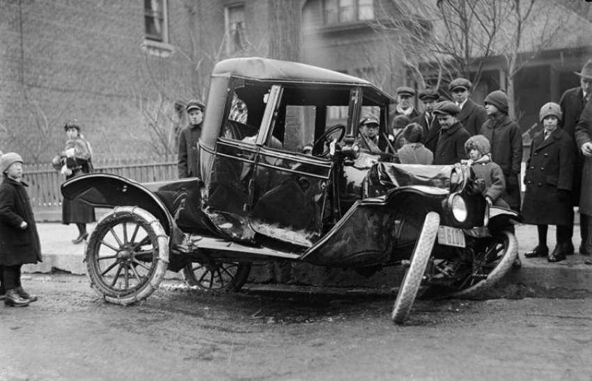Το πρώτο τροχαίο <br> στην Ελλάδα έγινε <br> το 1907 (εικόνα)
