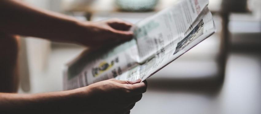 Τη Δευτέρα 1η Οκτωβρίου <br> κυκλοφορεί η νέα <br> τοπική εφημερίδα