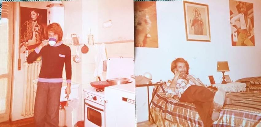 Ο Γ. Χριστόπουλος <br> μαλλιάς στα φοιτητικά <br> χρόνια (εικόνες)