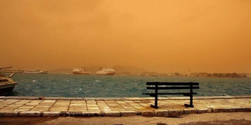Σε ''συμπληγάδες'' <br> σκόνης η Ελλάδα <br> έως το Πάσχα