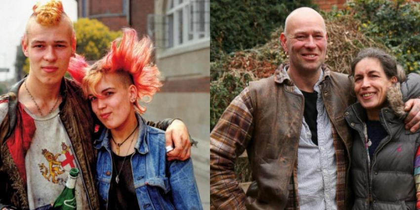 Φωτογράφισε τους ίδιους <br> στην ίδια πόζα μετά <br> από 30 χρόνια (εικόνες)