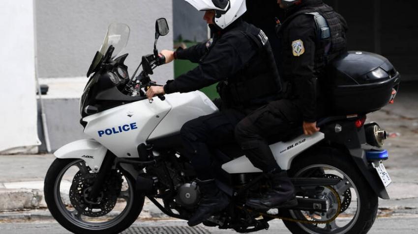 Τροχαίο με αστυνομικούς <br> της ομάδας ΔΙΑΣ <br> στην Αρτέμιδα