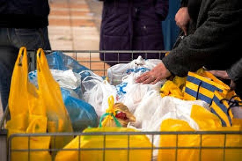 Διανομή αγαθών <br> από το Κοινωνικό <br> Παντοπωλείο
