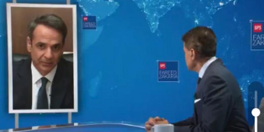 Κυριάκος Μητσοτάκης <br> στο CNN: ''Νίκη <br> επί του λαικισμού''