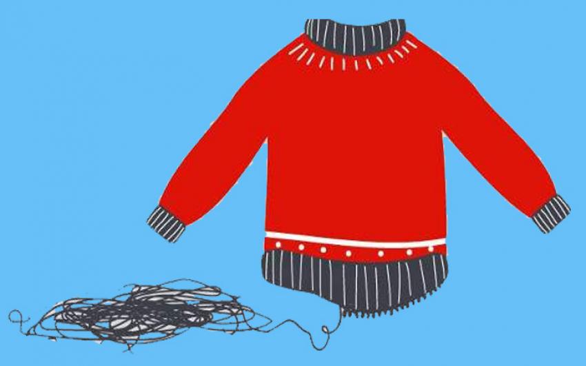 Ραφήνα Θα φύγει <br> ποτέ η πρώτη κλωστή <br> από το πουλόβερ;